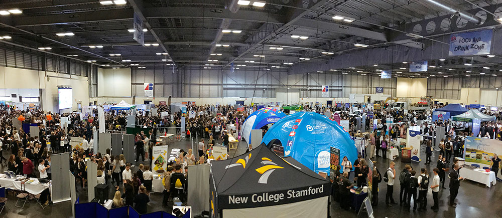 The Skills Service Career Show 2018