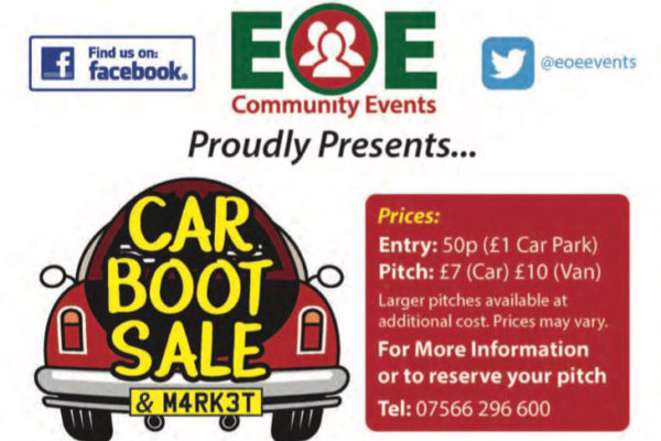 Car Boot Sale at the East of England Arena, Peterborough