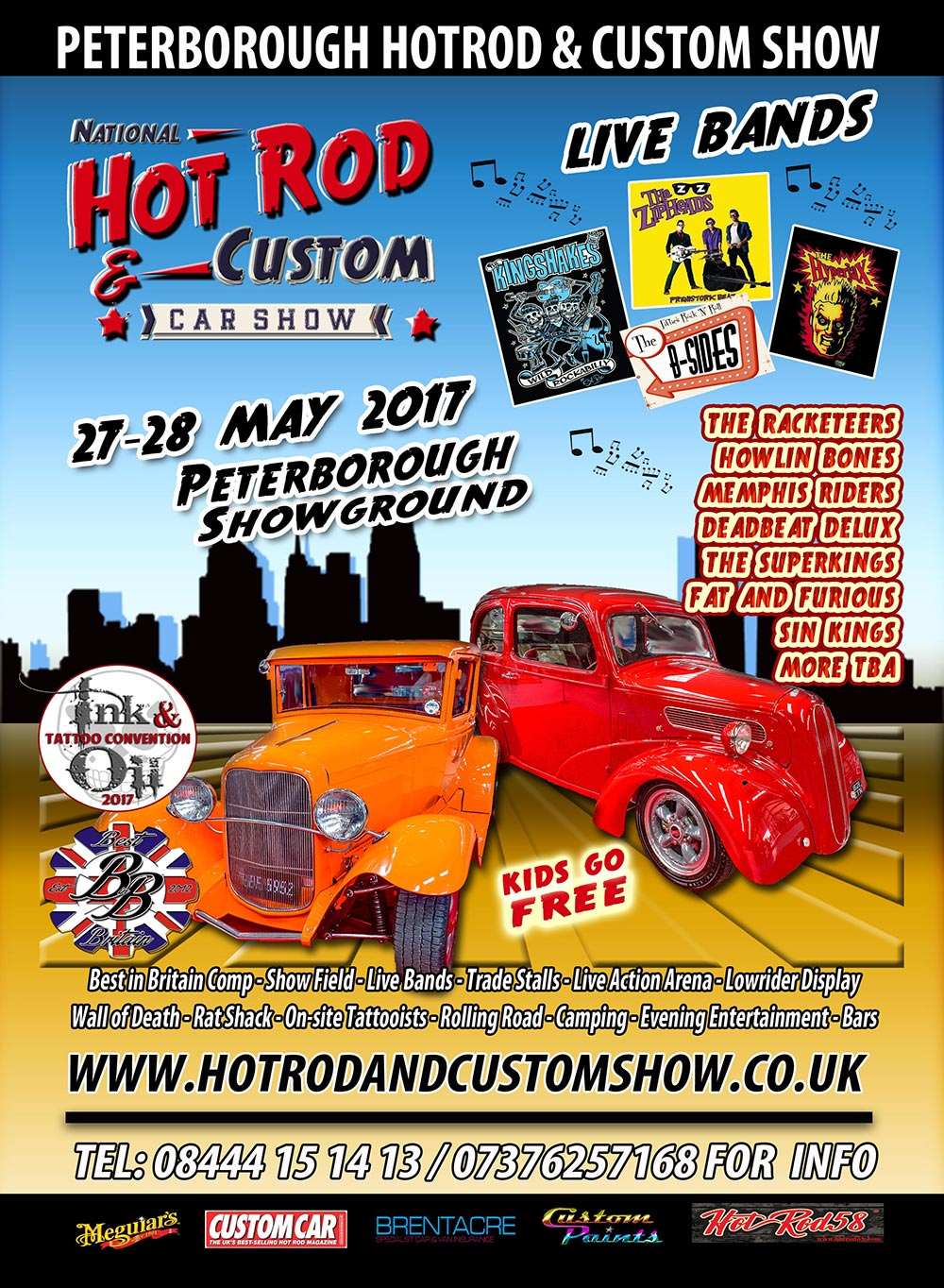 Hot Rod & Custom Car show