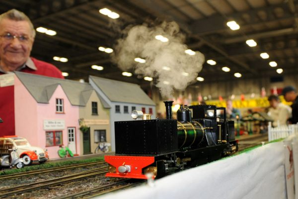 National Garden Railway Show At The East Of England Arena Peterborough