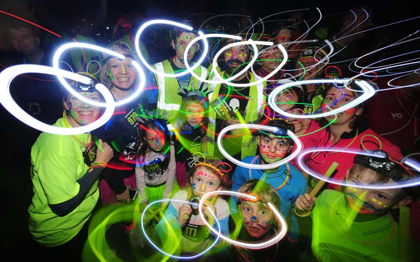 Glow In The Park At The East Of England Showground Peterborough