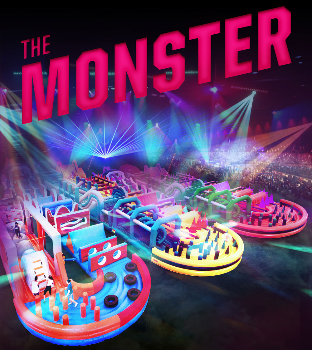 The Monster at The East Of England Arena Peterborough