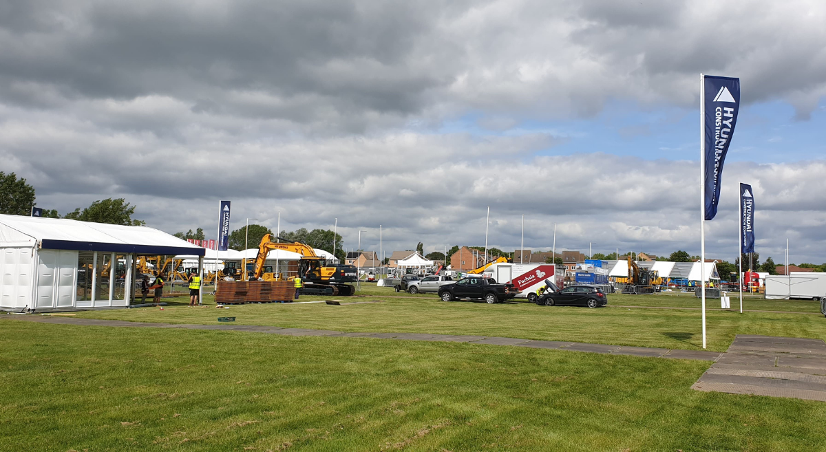 Plantworx and Railworx Build up well and truly underway